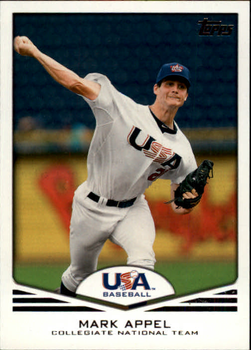 2011 USA Baseball #USA1 Mark Appel
