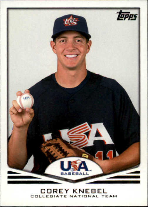 2011 USA Baseball #USA10 Corey Knebel