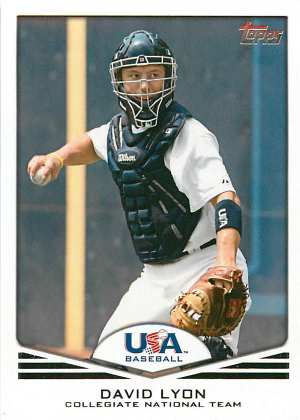 2011 USA Baseball #USA12 David Lyon