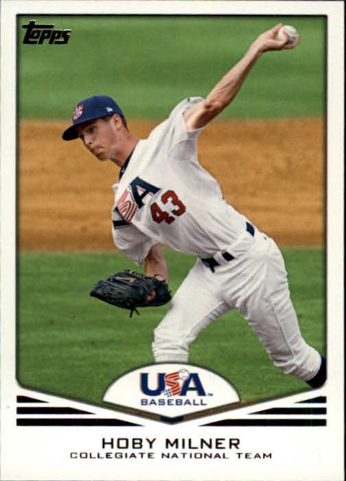 2011 USA Baseball #USA14 Hoby Milner