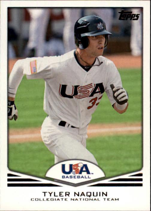2011 USA Baseball #USA17 Tyler Naquin