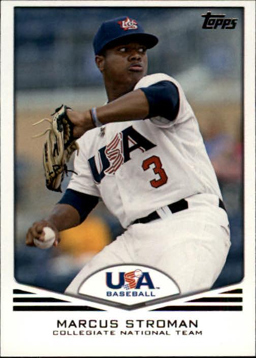 2011 USA Baseball #USA20 Marcus Stroman
