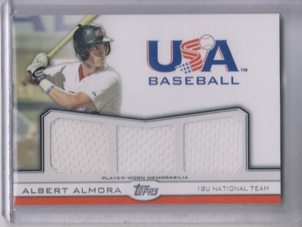2011 USA Baseball Triple Jerseys #AA Albert Almora