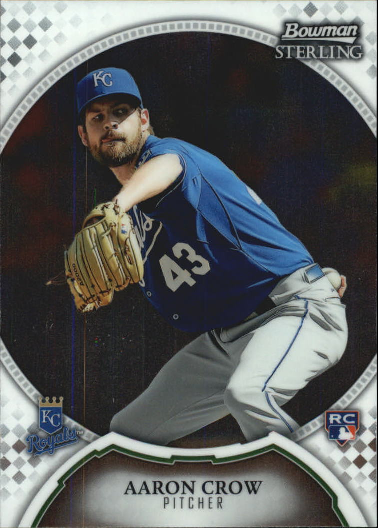 2011 Bowman Sterling #36 Aaron Crow RC