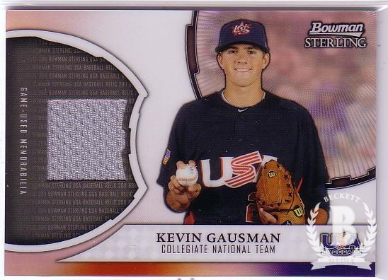 2011 Bowman Sterling USA Baseball Relics #KG Kevin Gausman
