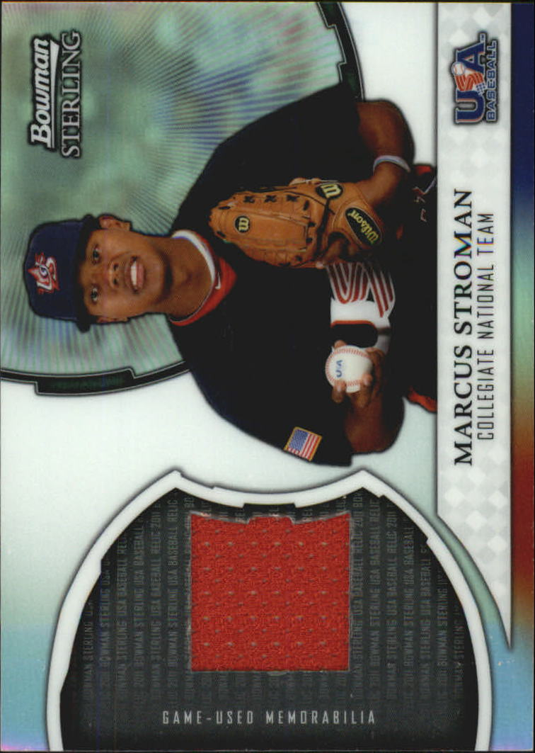 2011 Bowman Sterling USA Baseball Relics #MS Marcus Stroman