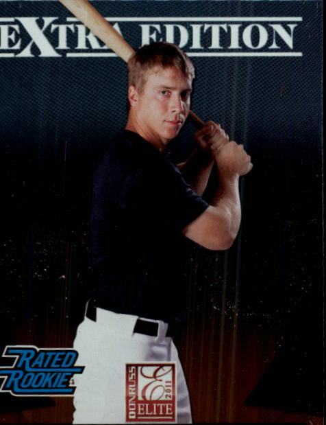 2011 Donruss Elite Extra Edition #23 Andy Dirks RC