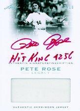 2011 Leaf Pete Rose Legacy Autographed Bats Green Ink #AB8 Pete Rose
