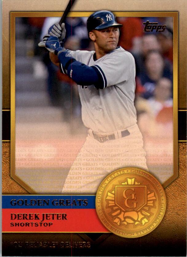 2012 Topps Golden Greats #GG30 Derek Jeter