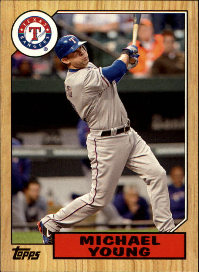 2012 Topps 1987 Topps Minis #TM4 Michael Young