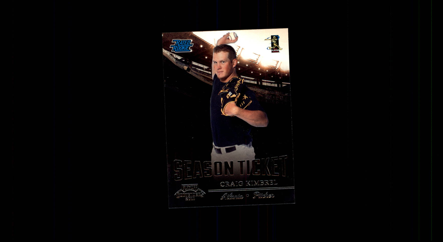 2011 Playoff Contenders #19 Craig Kimbrel RC