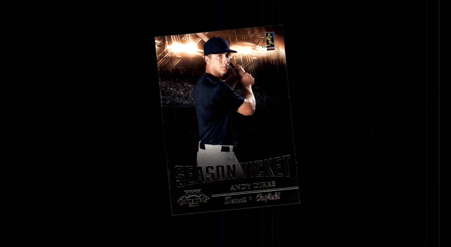 2011 Playoff Contenders #39 Andy Dirks RC