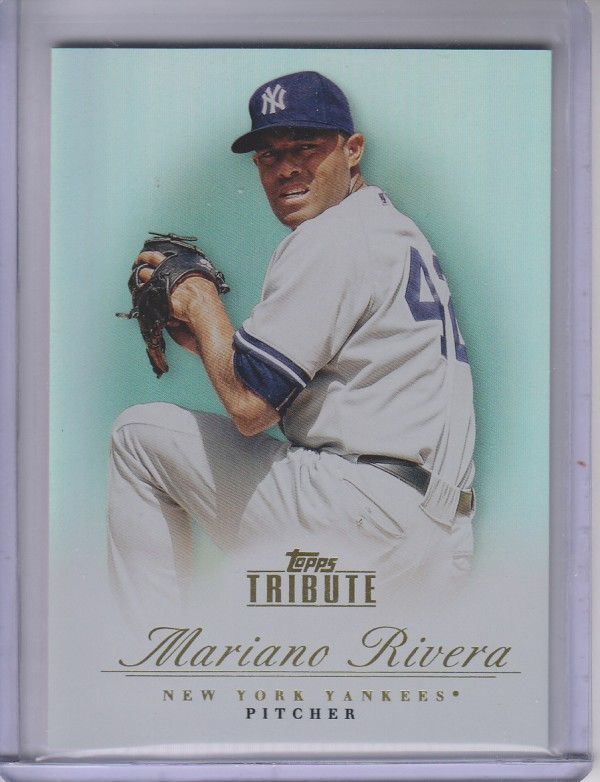2012 Topps Tribute #67 Mariano Rivera
