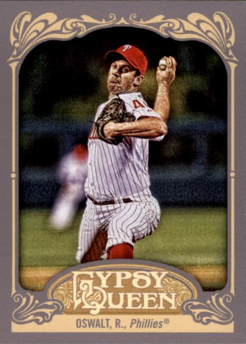 2012 Topps Gypsy Queen #141A Roy Oswalt