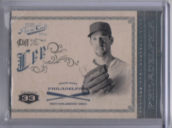 2011 Prime Cuts #9 Cliff Lee