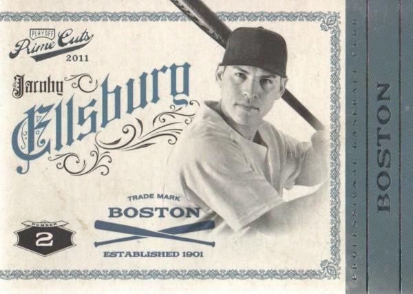 2011 Prime Cuts #20 Jacoby Ellsbury