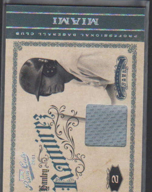 2011 Prime Cuts Materials #16 Hanley Ramirez/199