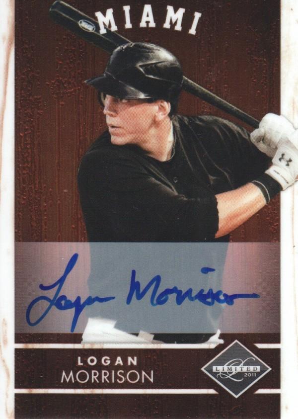 2011 Limited Signatures #28 Logan Morrison/299