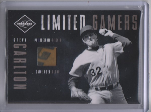 2011 Limited Gamers Gloves #7 Steve Carlton/49