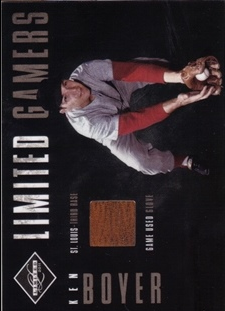 2011 Limited Gamers Gloves #9 Ken Boyer/299