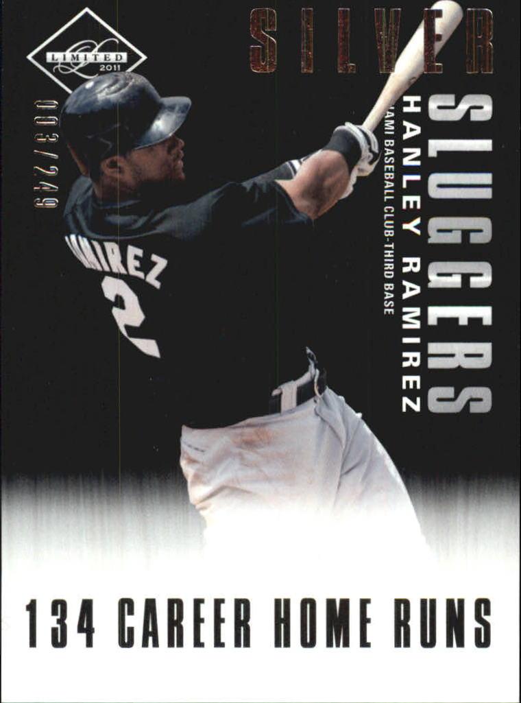 2011 Limited Silver Sluggers #3 Hanley Ramirez