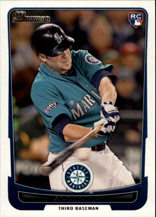 2012 Bowman #192 Alex Liddi RC