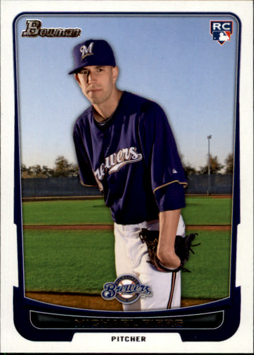 2012 Bowman #197 Michael Fiers RC