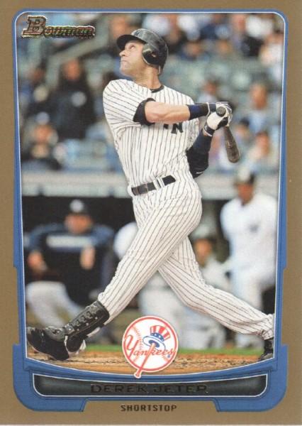 2012 Bowman Gold #1 Derek Jeter