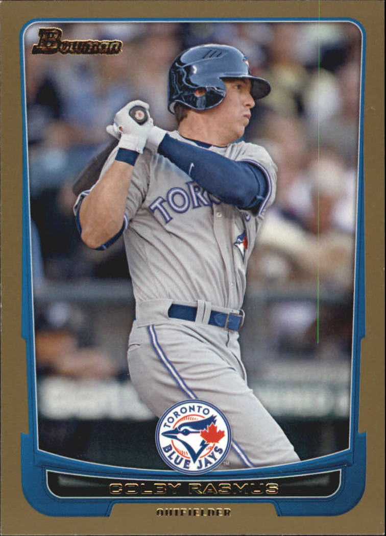 2012 Bowman Gold #23 Colby Rasmus