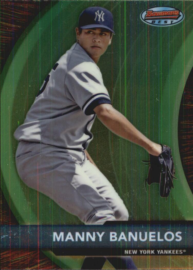 2012 Bowman Bowman's Best Prospects #BBP3 Manny Banuelos