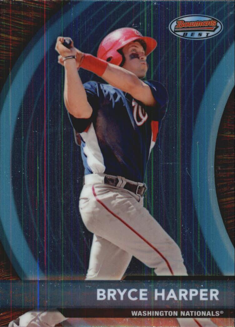2012 Bowman Bowman's Best Prospects #BBP4 Bryce Harper