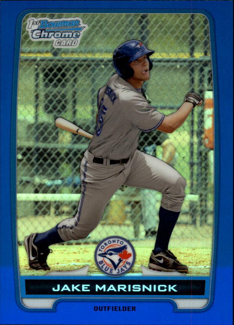 2012 Bowman Chrome Prospects Blue Refractors #BCP23 Jake Marisnick