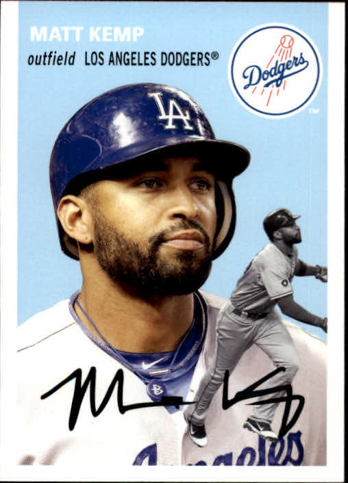 2012 Topps Archives #1 Matt Kemp