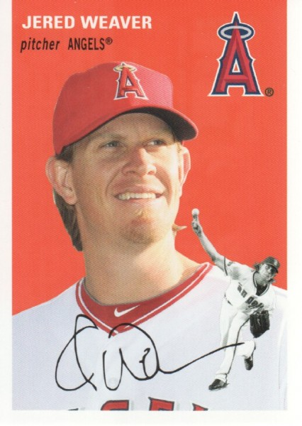 2012 Topps Archives #3 Jered Weaver
