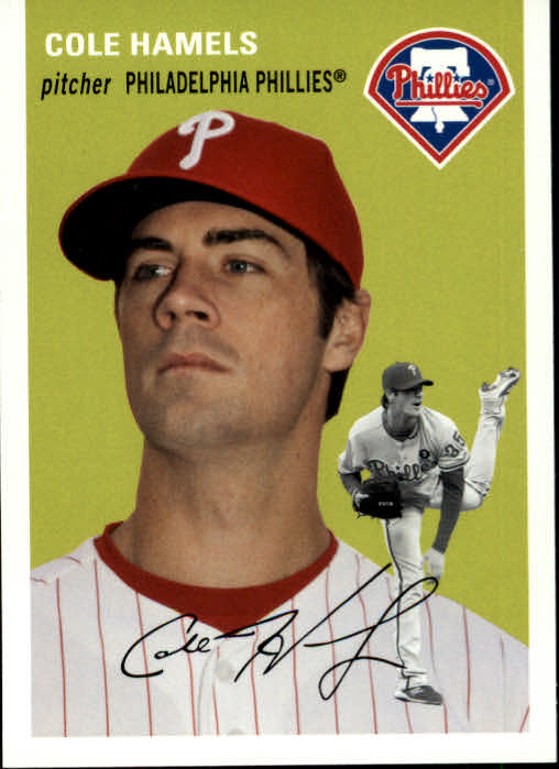 2012 Topps Archives #7 Cole Hamels