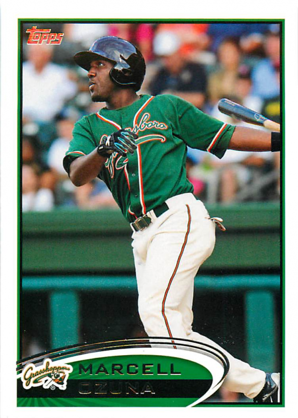 2012 Topps Pro Debut #214 Marcell Ozuna