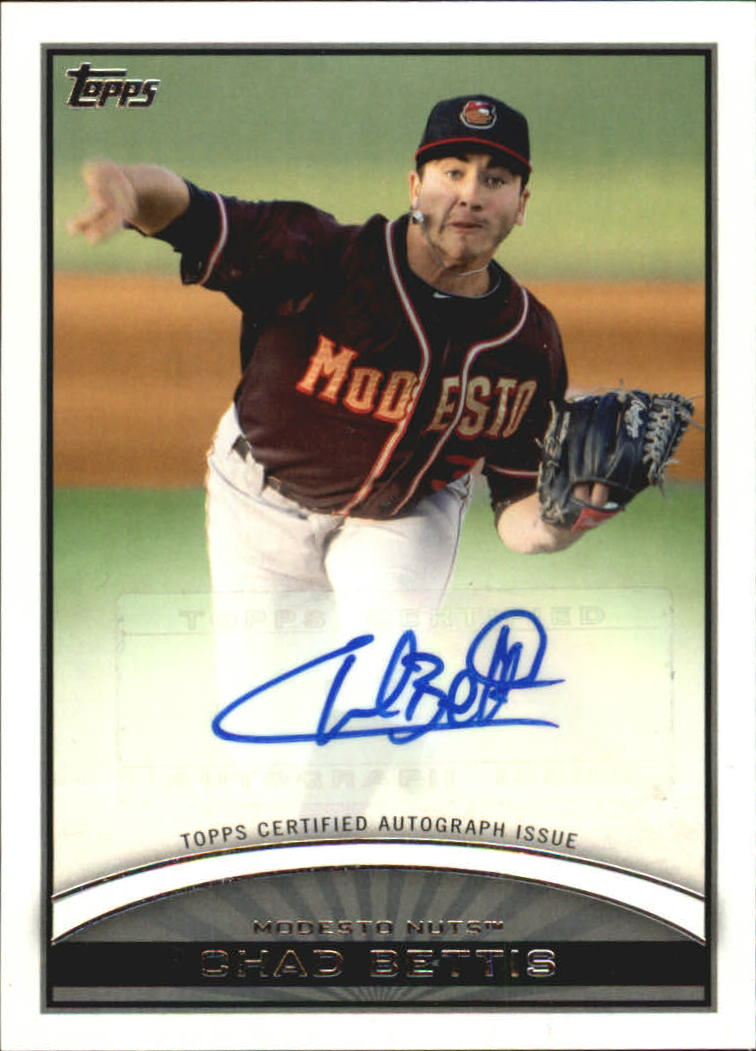 2012 Topps Pro Debut Autographs #CB Chad Bettis