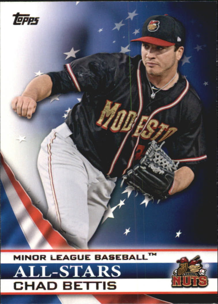 2012 Topps Pro Debut Minor League All-Stars #CB Chad Bettis