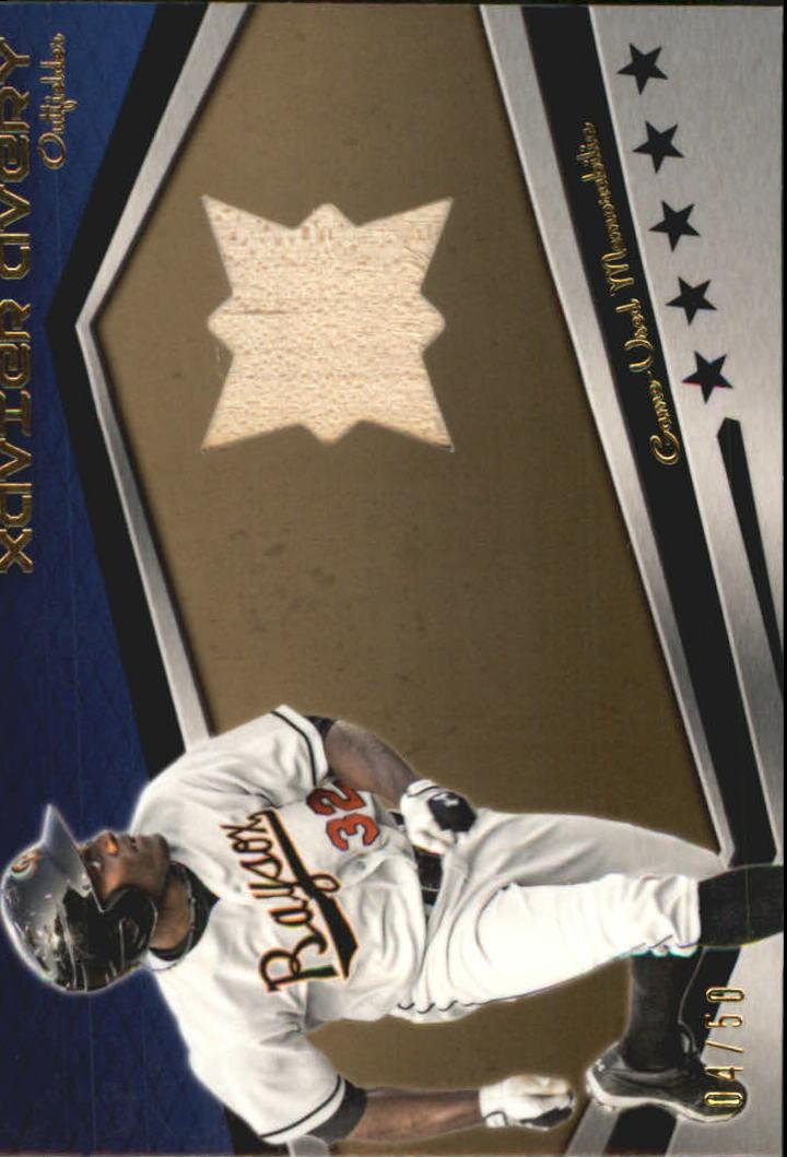 2012 Topps Pro Debut Minor League Materials Gold #XA Xavier Avery