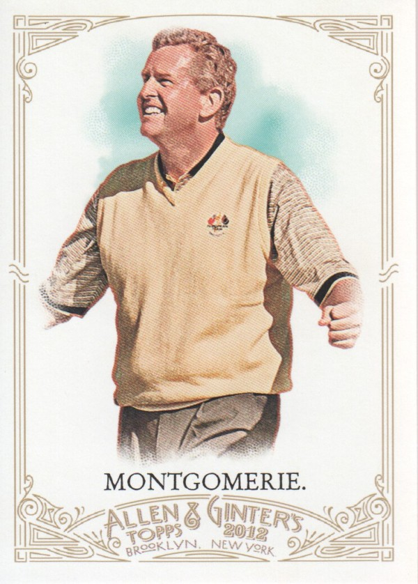 2012 Topps Allen and Ginter #55 Colin Montgomerie
