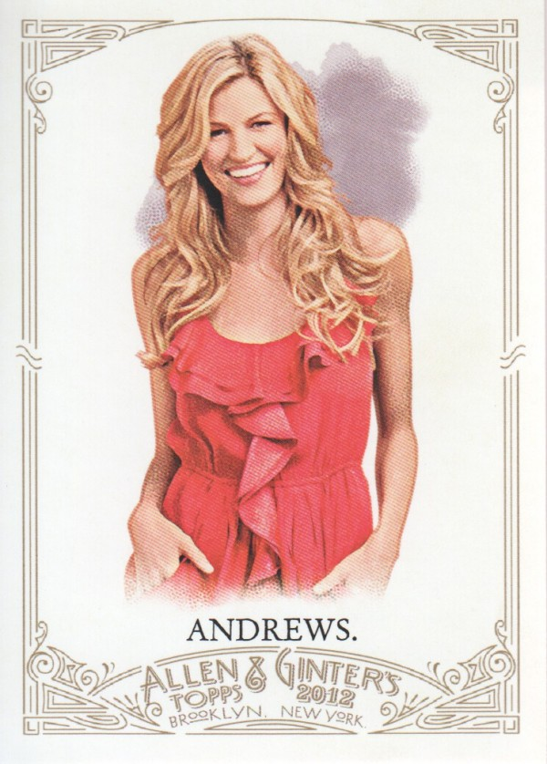 2012 Topps Allen and Ginter #75 Erin Andrews