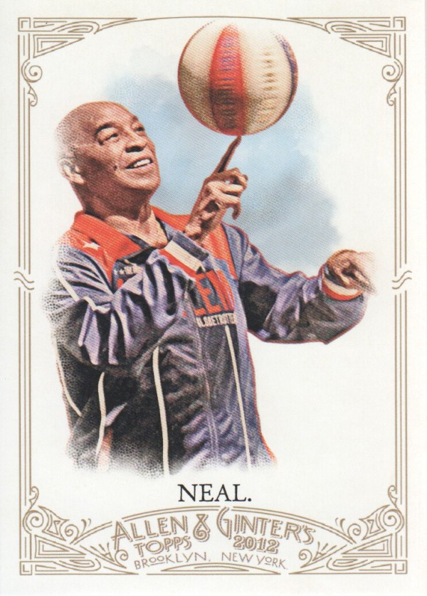 2012 Topps Allen and Ginter #85 Curly Neal
