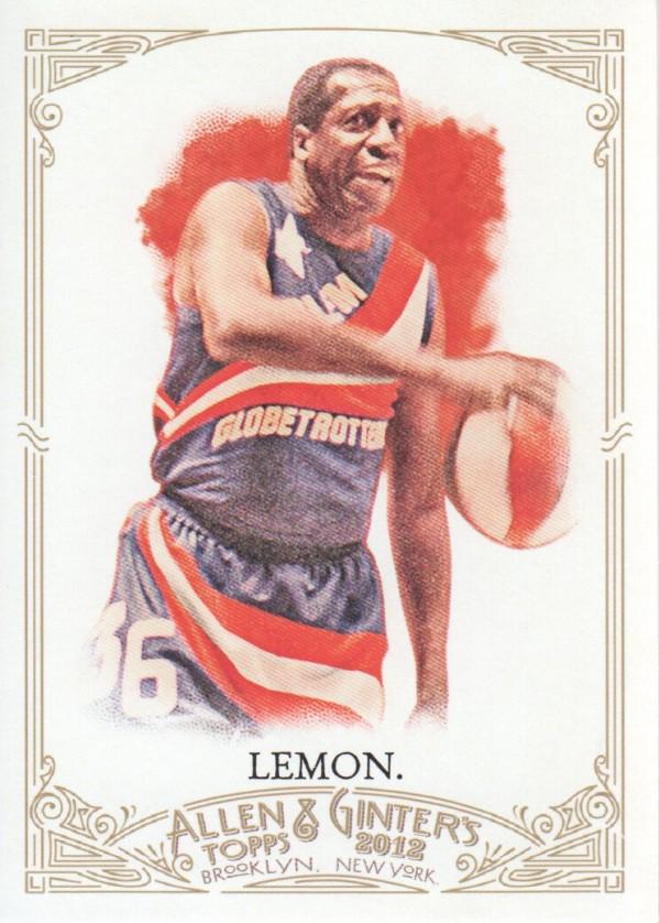 2012 Topps Allen and Ginter #113 Meadowlark Lemon