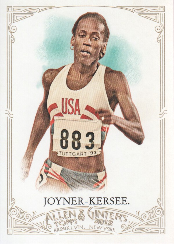 2012 Topps Allen and Ginter #193 Jackie Joyner-Kersee