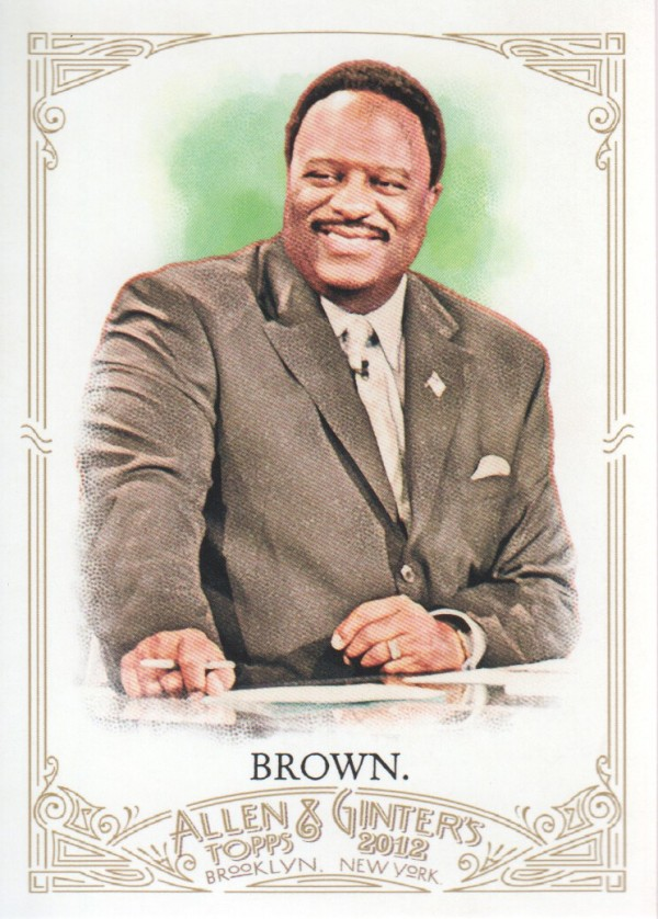 2012 Topps Allen and Ginter #220 James Brown