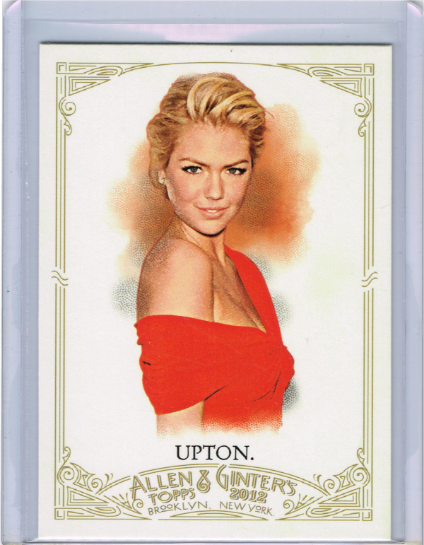 2012 Topps Allen and Ginter #232 Kate Upton