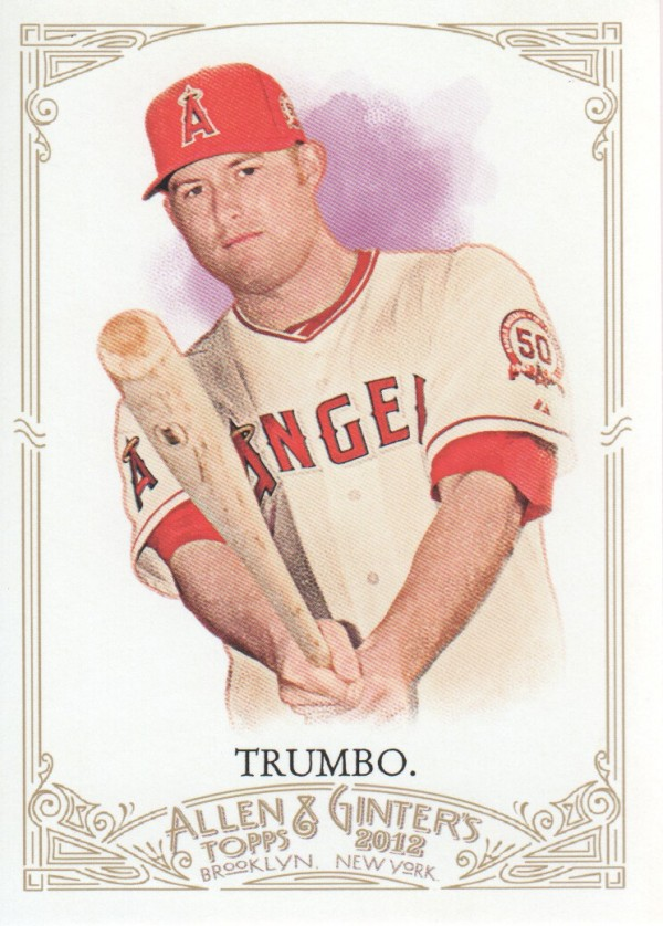 2012 Topps Allen and Ginter #296 Mark Trumbo