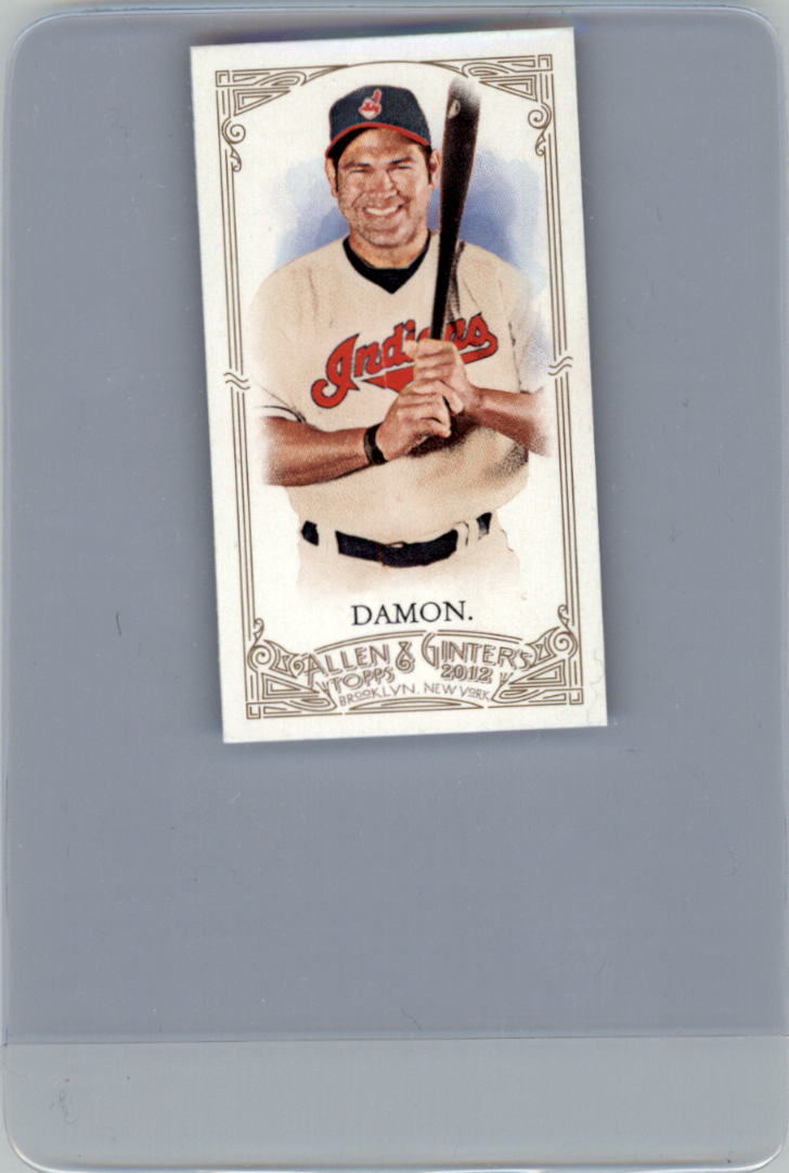 2012 Topps Allen and Ginter Mini A and G Back #59 Johnny Damon