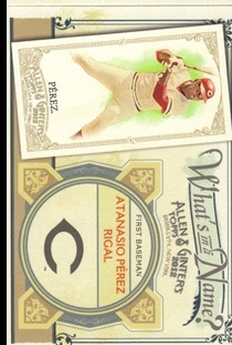 2012 Topps Allen and Ginter What's in a Name #WIN33 Atanasio Perez Rigal
