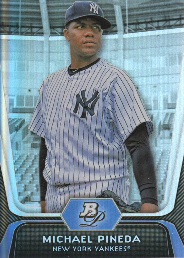 2012 Bowman Platinum #1 Michael Pineda